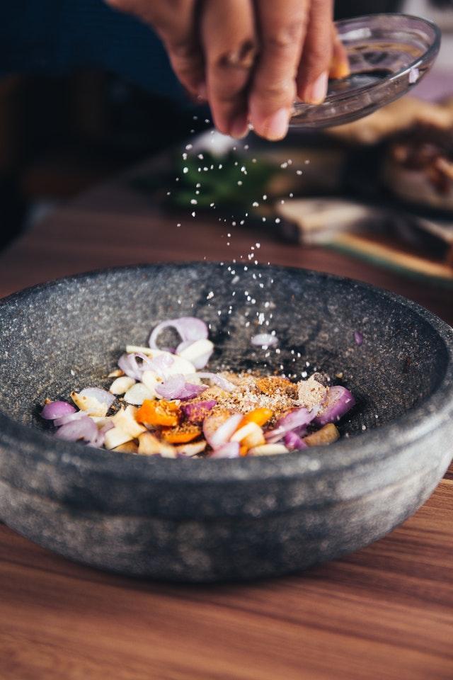 Matlagning och än en gång matlagning